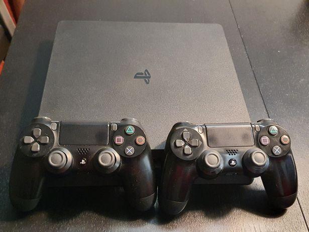 PS4 slim 500gb 2x Controller si 7 jocuri