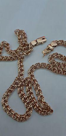 Золотая цепь ручной работы