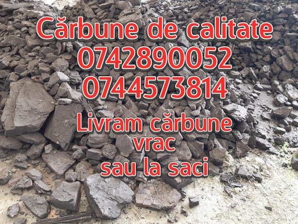 Carbune lignit vrac sau la saci; transport 4-24T, Livram carbuni CLUJ