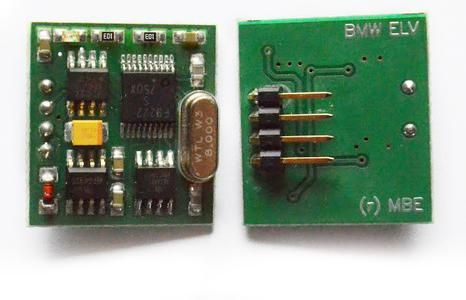 Емулатори ELV/ESL за БМВ и Мерцедес за заключващ механизъм на волана