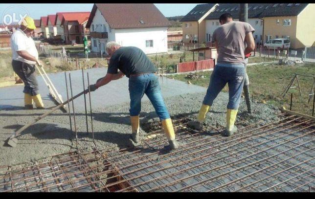 Construim, subzidiri , ziduri , acoperisuri, consolidari, pişcoturi.