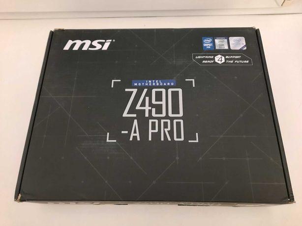 Материнская плата MSI Z490-A Pro