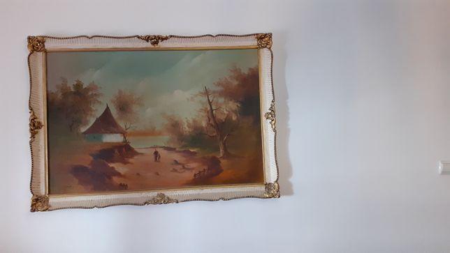 Tablou pictat în ulei