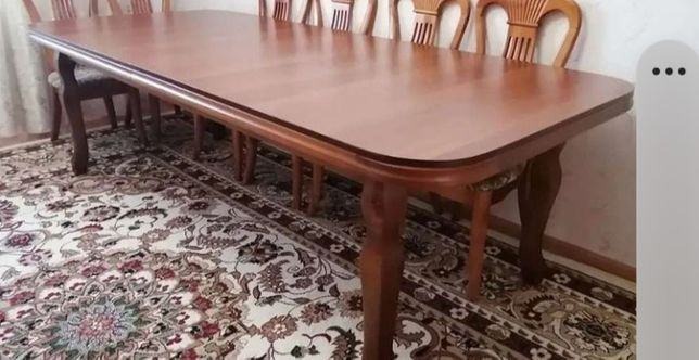 Стол стулясыменсатылады. Сост өте жақсы, еш жері сынбаған,сырылмаған.