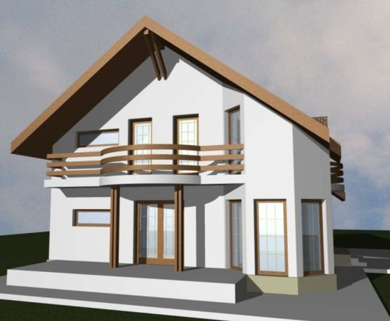 De vânzare case din panouri prefabricate