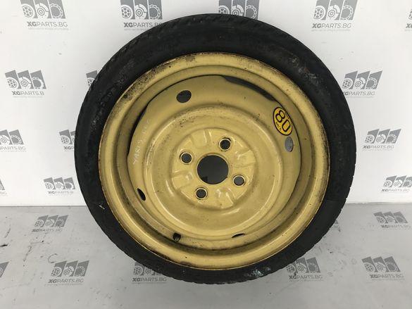 Патерица, резервна гума за Toyota yaris 99-2005г 14 цола