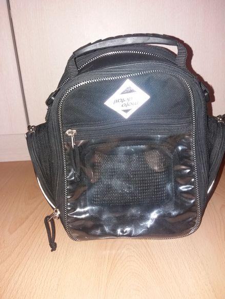 Мото чанта със магнити