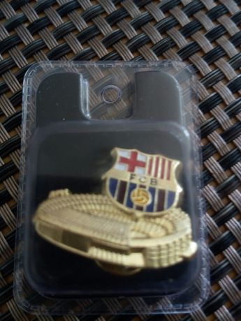 Значка, футболен клуб Барселона, оригинална, закупена от Ноу Камп