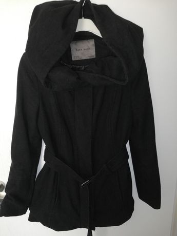 Палто Зара с голяма качулка, М размер