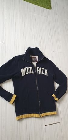 WOOLRICH Made in Italy Wool/Cotton Full Zip Mens  Size M  Цял Цип!
