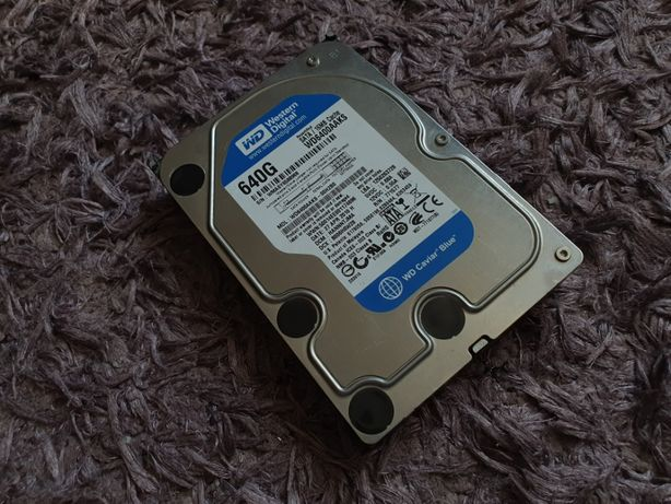 Hard disk , HDD 640GB Western digital