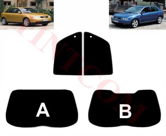 Audi A3 (3 врати, хечбек, 1996-2003) - Фолио за затъмняване на стъкла