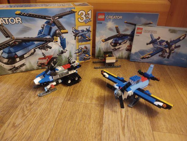 Lego вертолет 3 в 1 оригинал.