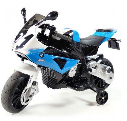 Motocicleta electrica pentru copii BMW S1000RR (JT528) Albastru