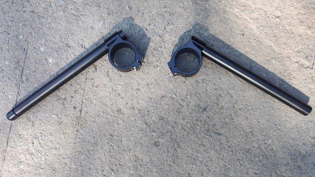 Универсальнын клипоны для мото 45-48 мм, алюминиевые.