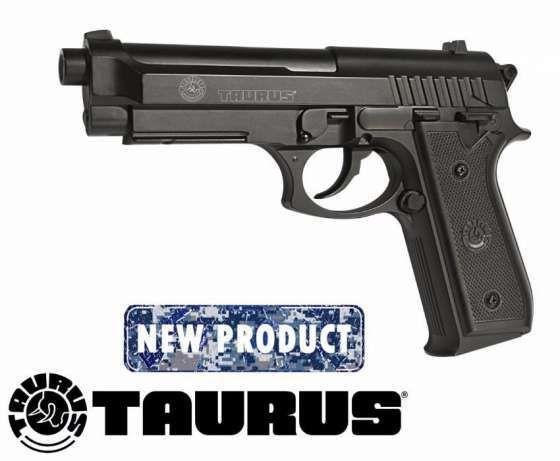 Pistol Taurus CO2 Pachet 5 CO2+1000 bile 0.25gr