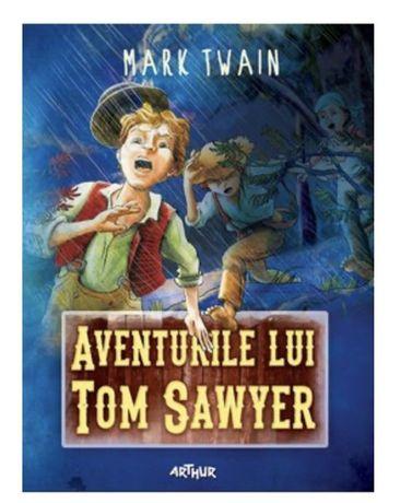 Pachet carti cartonate noi Tom Sawyer hucklberry Finn