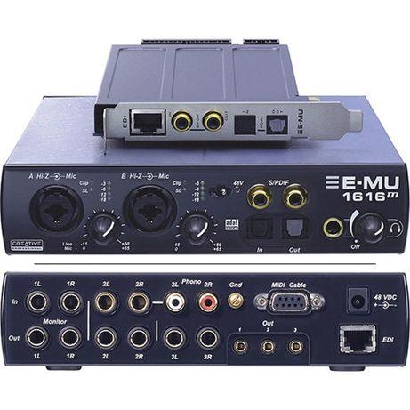 Звуковая карта Creative Professional E-MU 1616M PCI Express 24bit