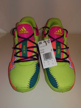 Vand Adidas noi Basketball, unisex pentru copii, marime 35