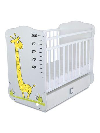 Кровать манеж для новорождённых СКВ 4 жираф ростомер кроватки манежи