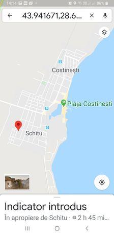 Vand 500 mp teren Costinesti la 900 metri de la plaja