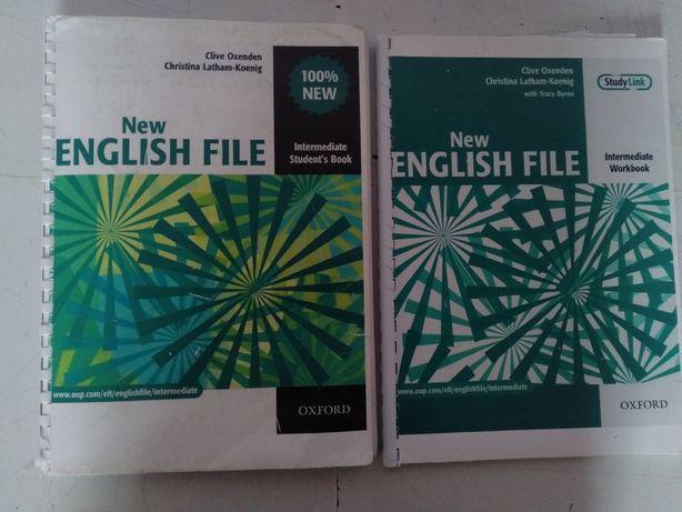 Книги английского языка:NEW ENGLISH FILE