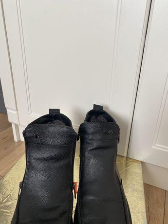 Продам мужские зимние сапоги ортопедические
