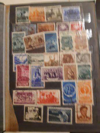 Vand clasor cu serii intregi de timbre anii completi 1953 1954 1955