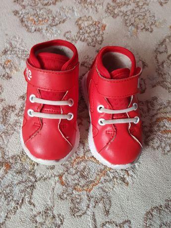 Обувь на малыша утепленная