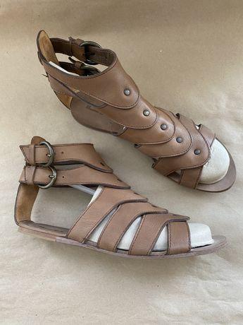 Продаю сандалии Massimo Dutti б/у, размер 38,нат.кожа