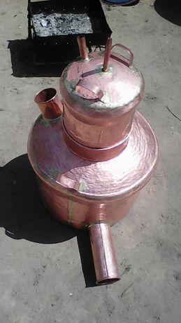 Vând cazane de țuică cazanul are o 120 de litri cu toată instalația cu