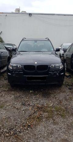 Продавам BMW X3 3,0d 204hp автомат, Mpack на части. БМВ Х3 204, Мпакет
