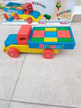 Дървено камионче