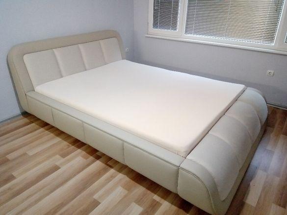 Дизайнерска тапицирана спалня,Тапицирано легло