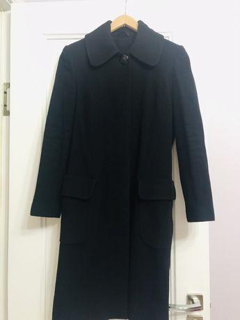 Пальто чёрное кашемировое