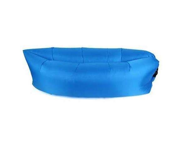 Надуваемо легло Bubble bed (lazy sofa bag) голям размер (Син цвят)