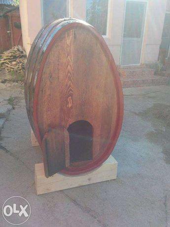 Mobilier butoaie din lemn