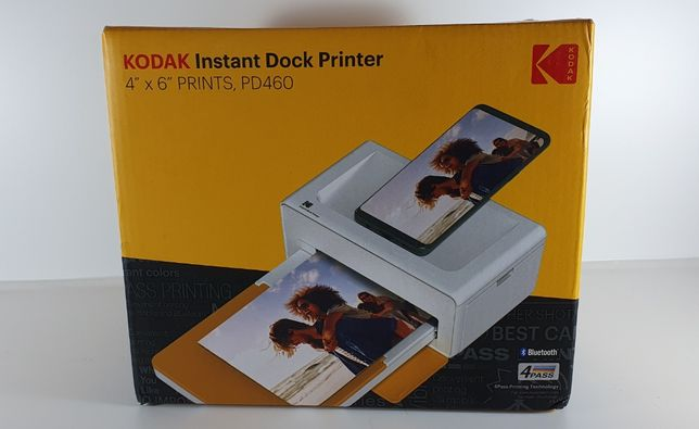 """nou, sigilat, Imprimantă foto portabilă 4x6 """"Kodak Dock IOS Android"""