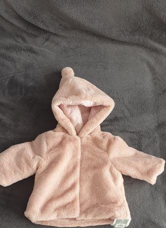 Jacheta/ paltonas din blanita pentru bebelusi