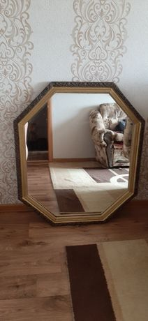 Зеркало большое деревянное