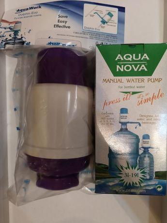 Насосы для воды, помпы для бутылей, помпа на 19 литров