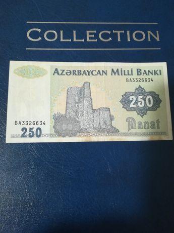 Bancnota 250 Manat Azerbaijan