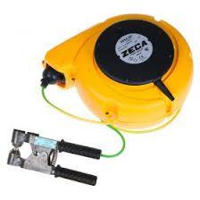 Tambur automat cablu+cleste inpamantare benzinarii ,cisterne 12,5mt