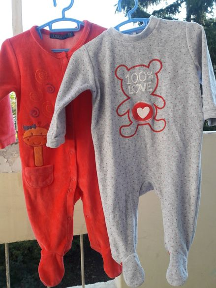 Две нови плюшени пижамки марка Losan