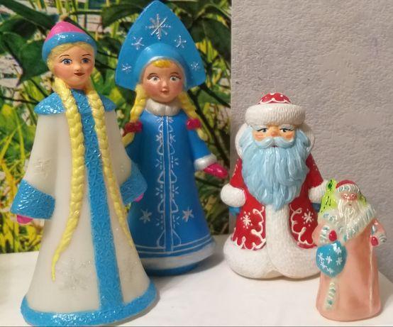 Дед Мороз и Снегурочка советские