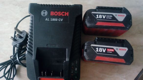 Батерии и зарядно устройство Bosch GBA 18V