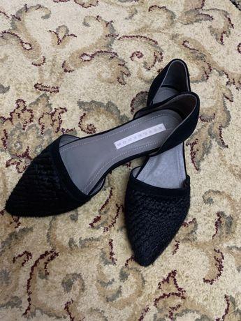 Pantofi piele dama model deosebit marimea 37