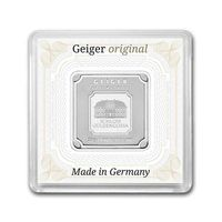 Lingou argint 999 +UV+certificat, Geiger Edelmetalle Germania 20g