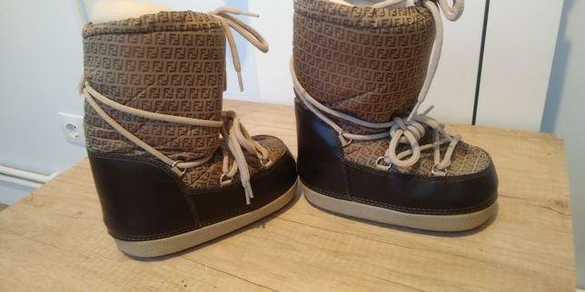 Boots Fendi originale 26 28