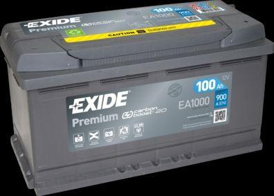 Baterie Auto Exide EA1000 PREMIUM 12V 100AH, 900A Garantie 2 Ani